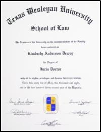 Kim's Diploma